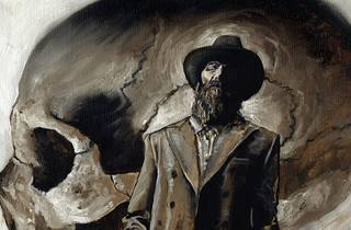 Ilustración de un hombre con sombrero y traje