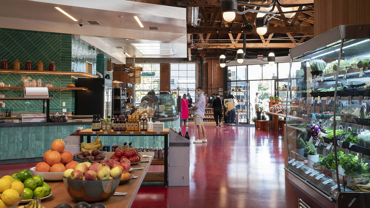 Sightglass Marketplace & Coffee Roastery in Hollywood