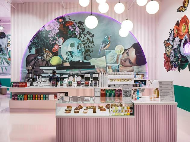 A cafe decked out in art by Lisa King