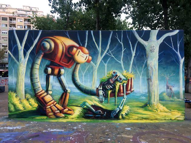 Grafiti legal