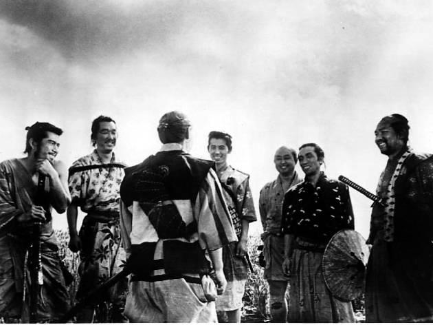 Set samurais (1954)