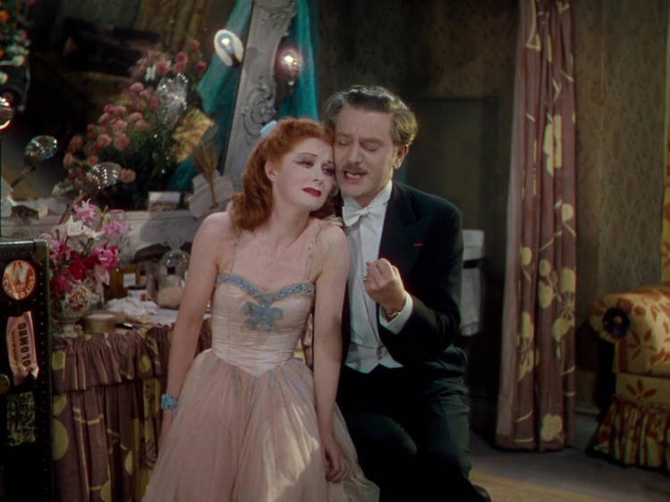 Las zapatillas rojas (1948)