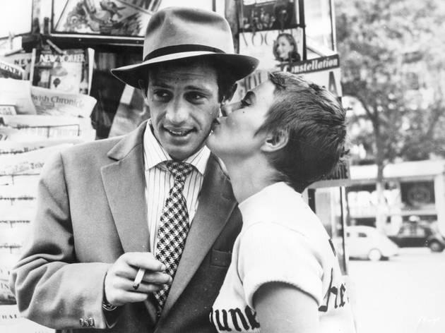 Al final de l'escapada (1960)
