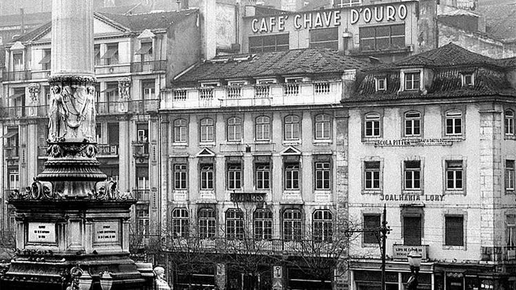 Café, Café Chave d'Ouro, Lisboa Antiga, O Pátio das Antigas