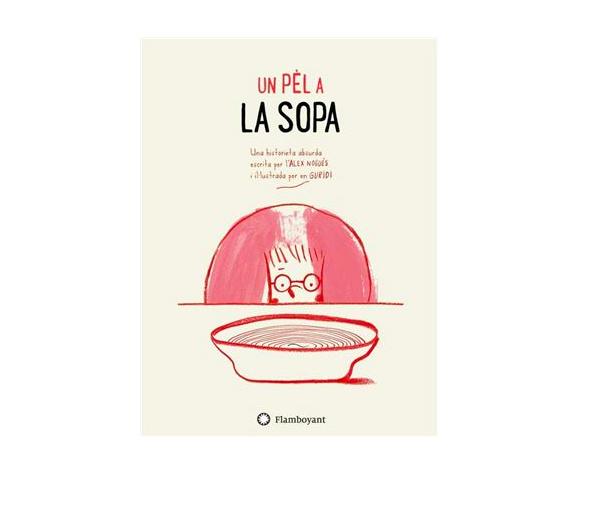 Portada del llibre infantil Un pèl a la sopa