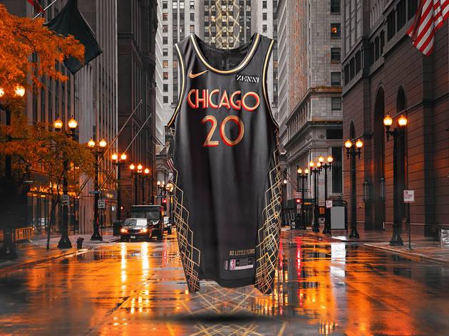 Chicago Bulls City Edition jersey