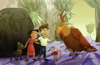 Still de la película mexicana de animación El camino de Xico