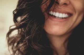 happy, smile, woman