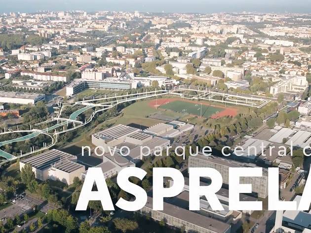 O futuro Parque Central da Asprela