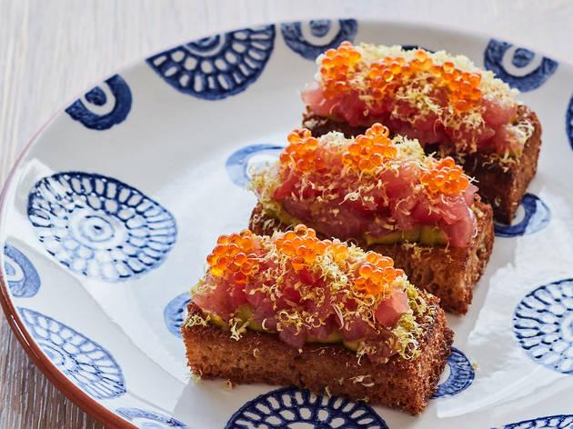 Ormeggio Tuna crostini (Photograph: Supplied/Ormeggio)