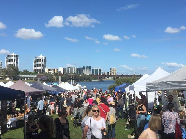 Markets on the Parramatta River