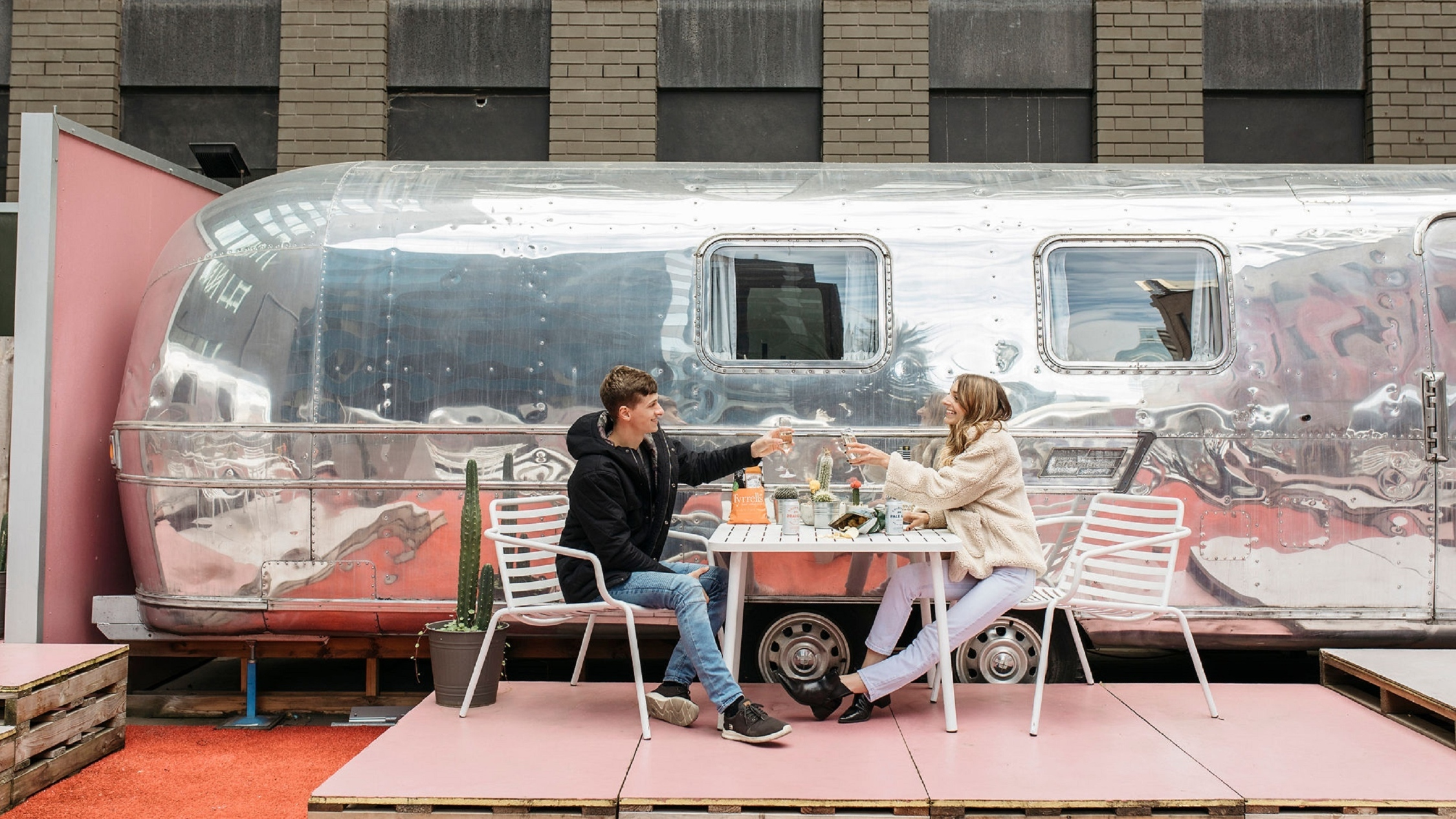 Notel, Melbourne's ultra-quirky rooftop caravan hotel