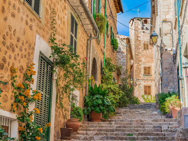 Fornalutx. Mallorca. Pueblo bonito