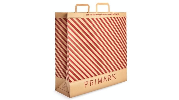 Bolsa de papel Primark