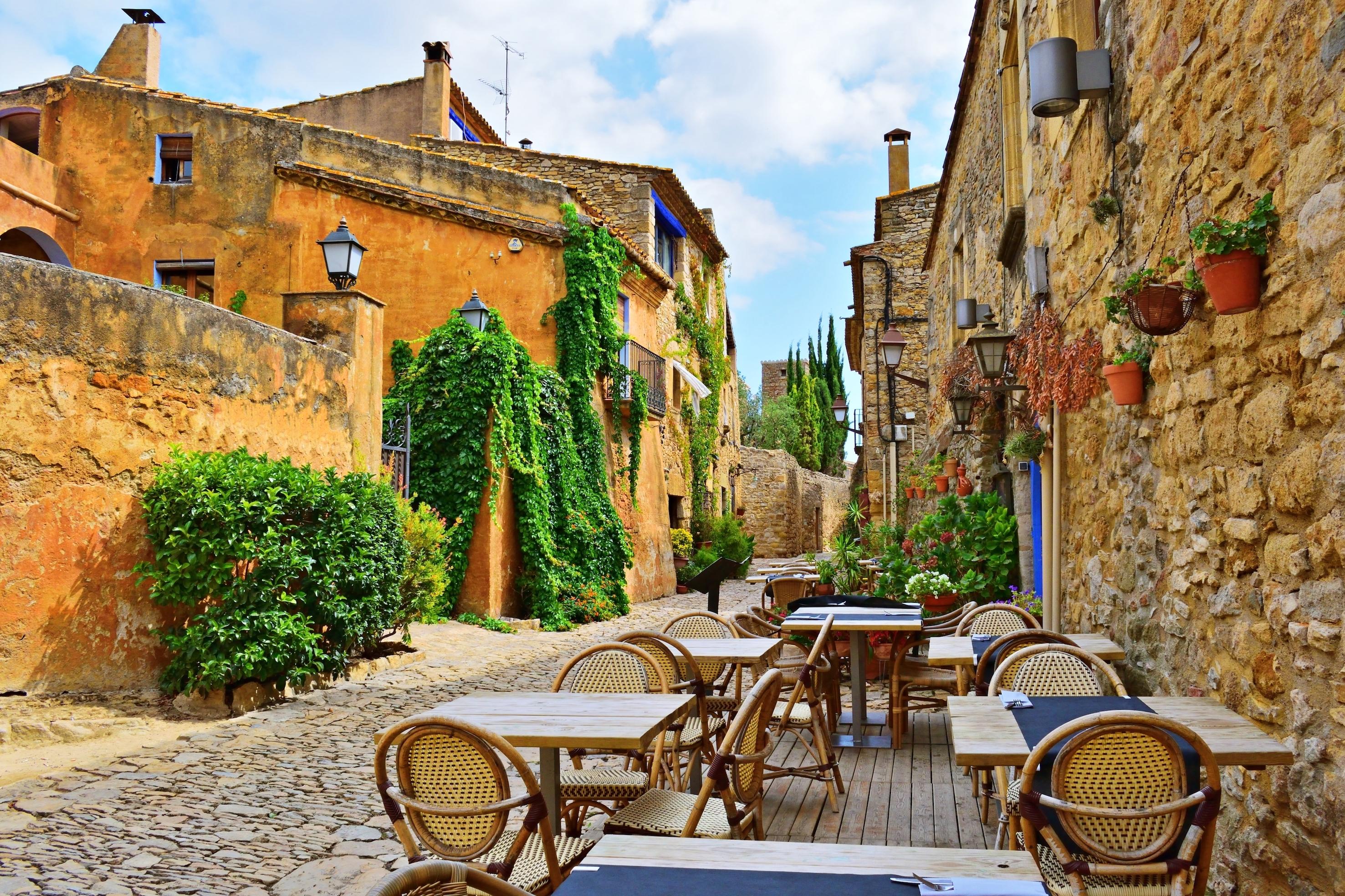 Peratallada. Pueblo bonito. Girona