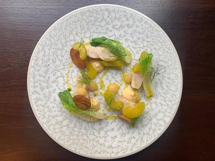#FondDePlacard44 - La rascasse confite sauce aïoli d'Adrien Ferrand (Eels)