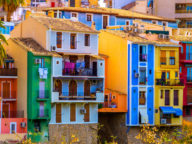 Villajoyosa. Alicante. Pueblo bonito