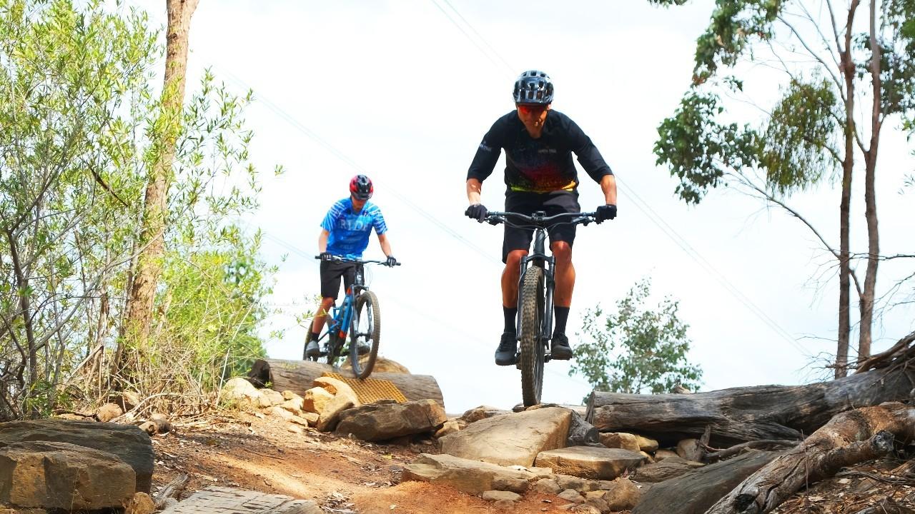 Australian Botanic Garden Mount Annan Mountain Biking Trail