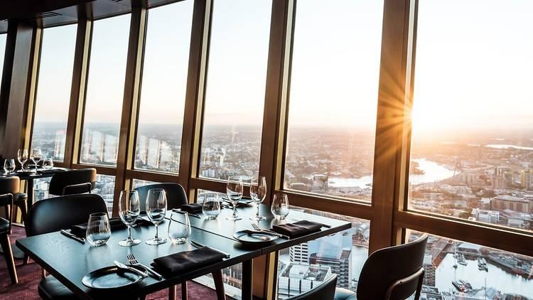 Infinity at Sydney Tower restaurant