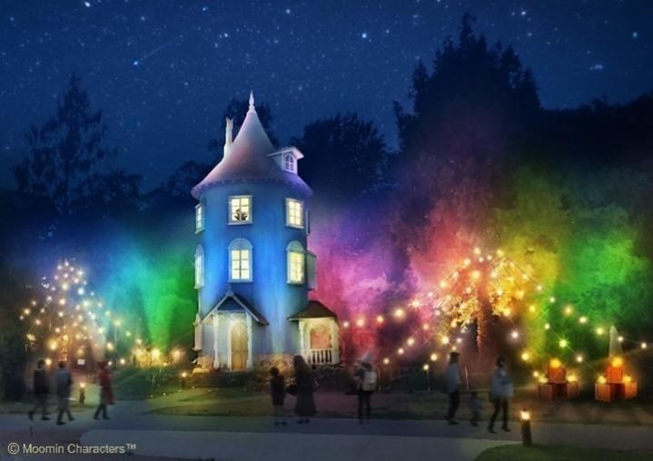 ムーミンバレーパークに音と光の新アトラクションが登場