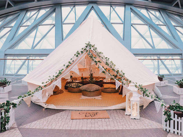 Changi Airport Glamping
