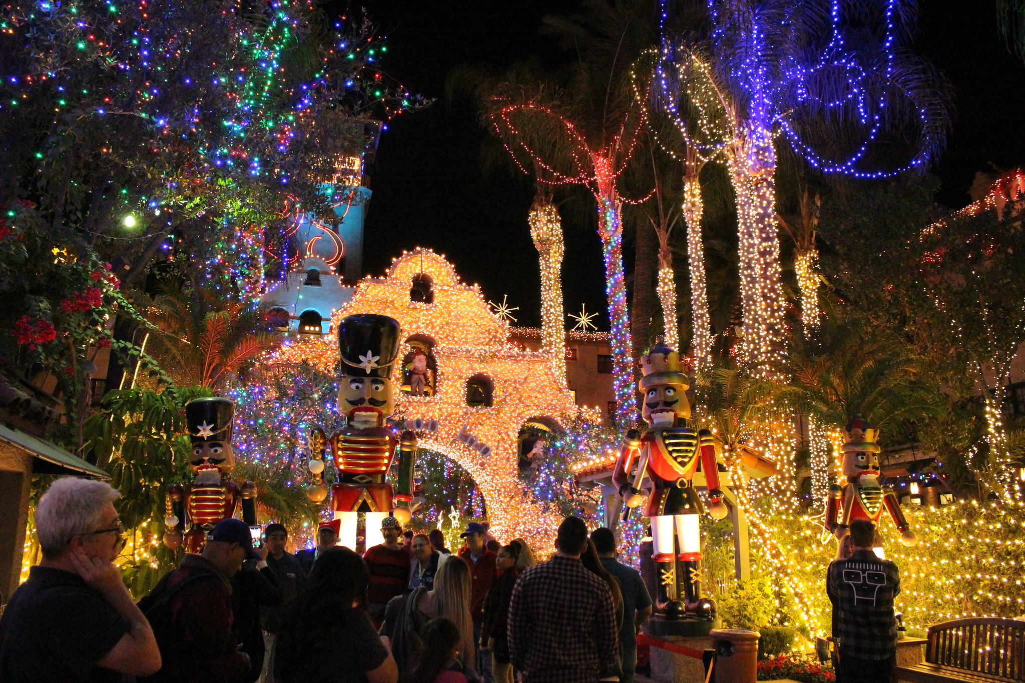 Festival of Lights at the Mission Inn