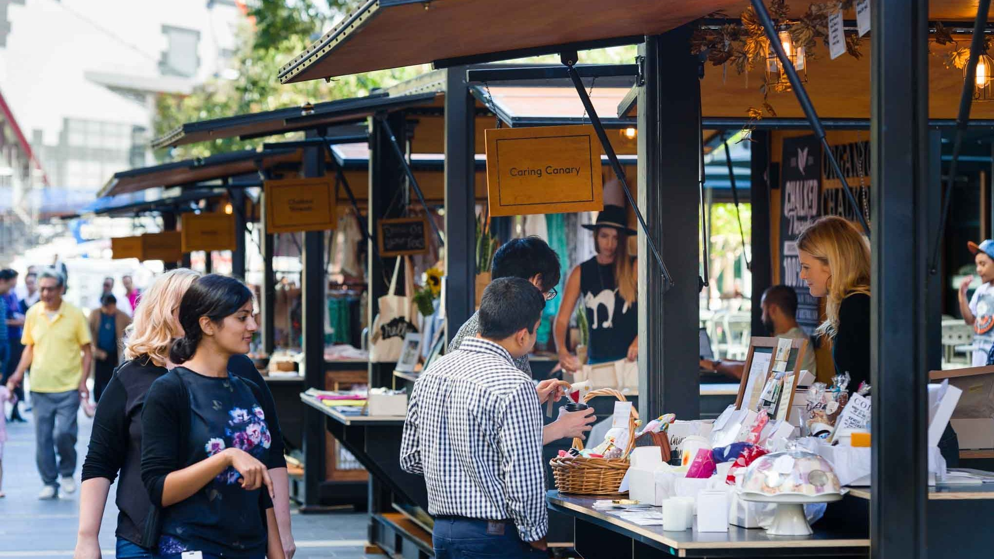 Darling Quarter Markets