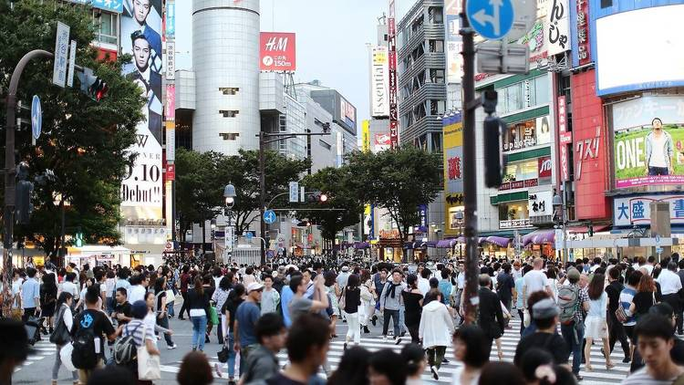 Photo: 二 盧/Pixabay Undated stock photo of Shibuya Crossing