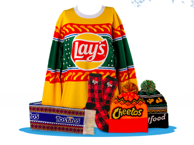 Frito-Lay launches ugly sweater holiday collection