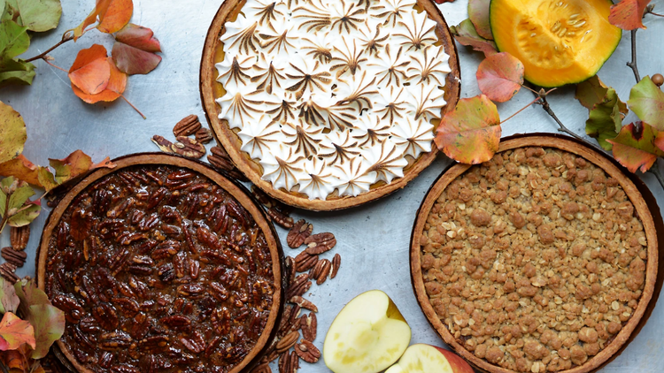 Thanksgiving pies from Delicious Hospitality Group
