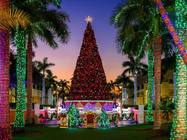 Gulfstream Park's Symphony of Lights