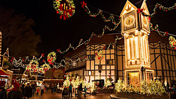 Williamsburg, Virginia at Christmas