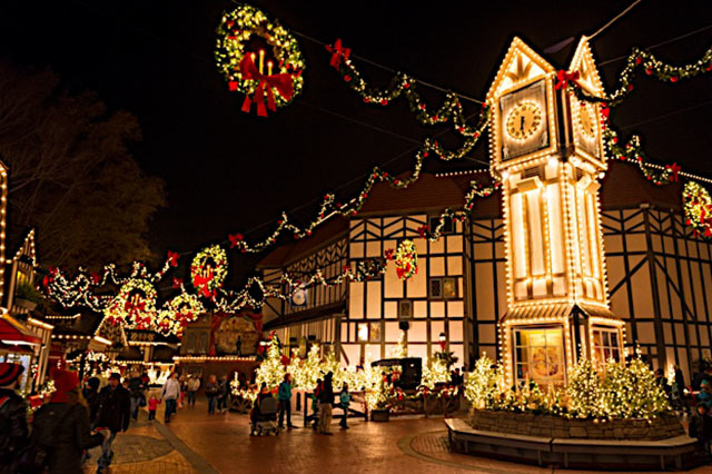 These dazzling Christmas cities go all out when it comes to the holidays