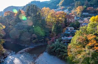 Okutama in autumn