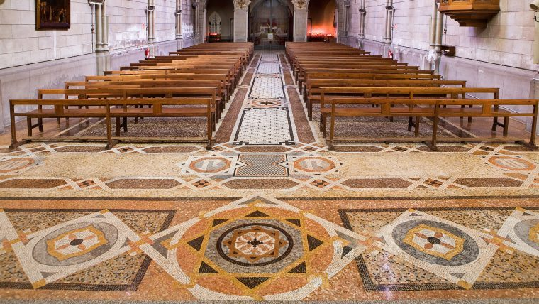 Mosaic de l'Esglèsia de Sant Pacià