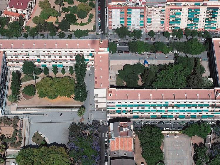 Descobrir el trencador disseny urbanístic de la Casa Bloc