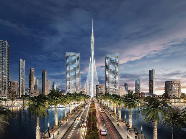 Dubai's Creek Tower