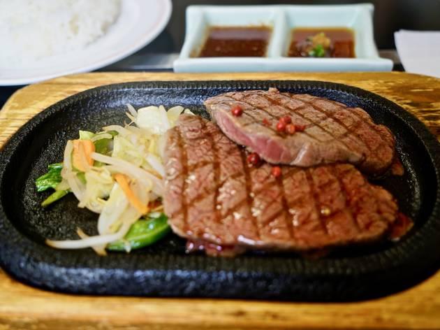 オリジナルステーキ