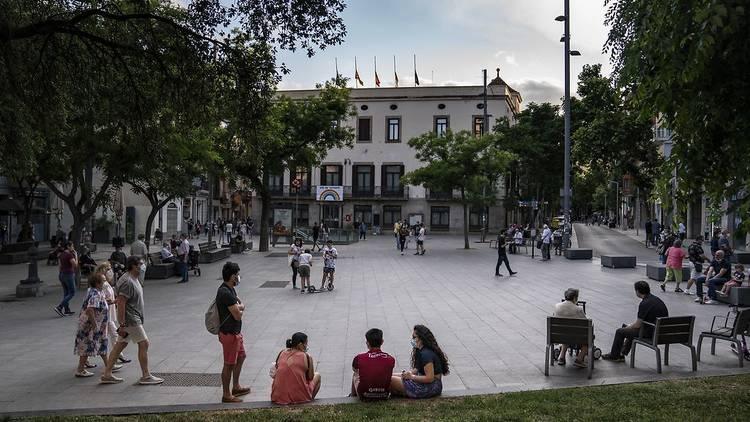 Plaça Orfila, Sant Andreu