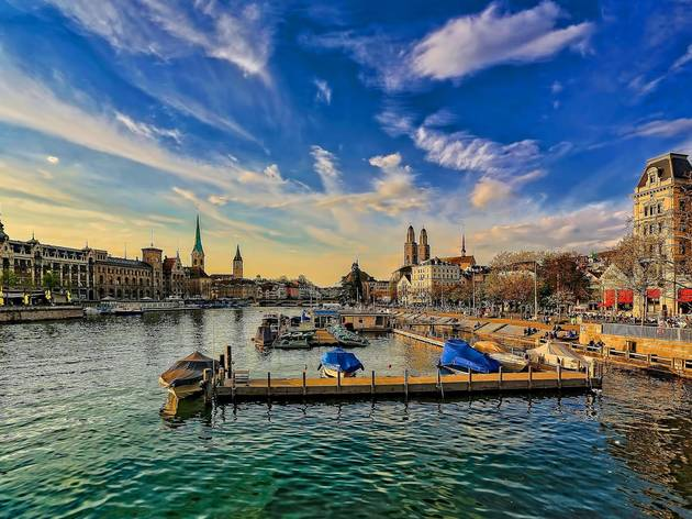 Zurich is one of the top three most expensive cities in the world to live in