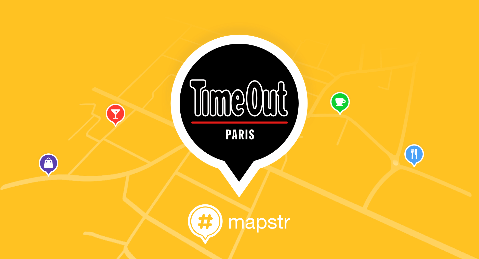Time Out x Mapstr