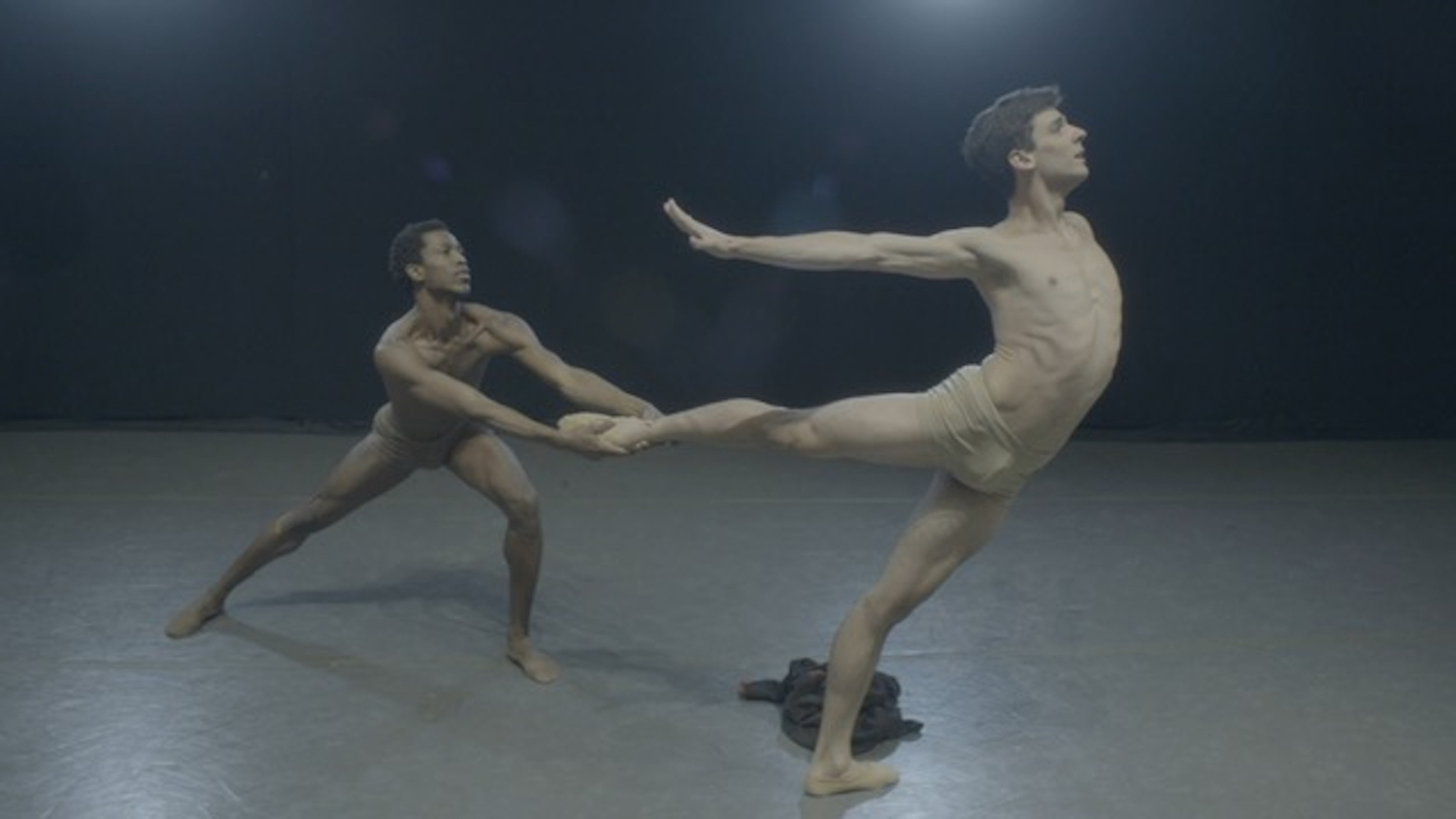 Calvin Royal III and João Menegussi in Christopher Rudd's Touché