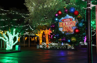 Six Flags Magic Mountain Holiday in the Park Drive-Thru Experience