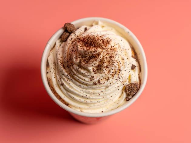 Hot chocolate at La Newyorkina