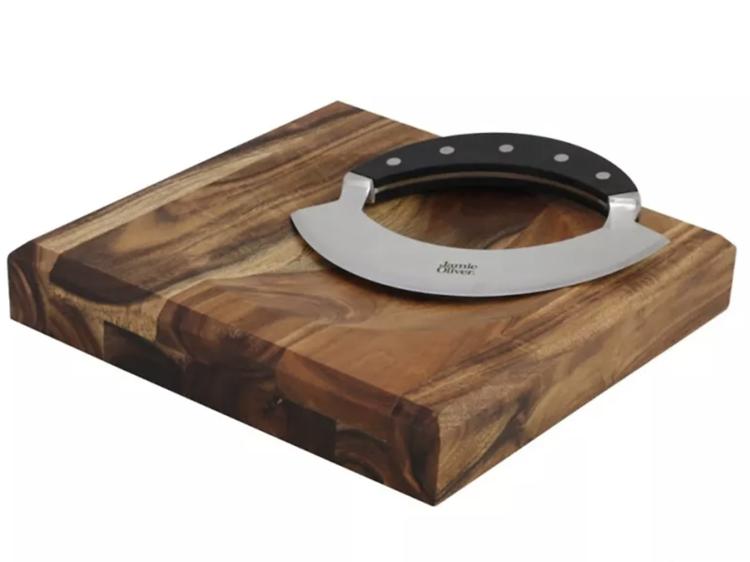Jamie Oliver Mezzaluna and Chopping Board ($43.49)