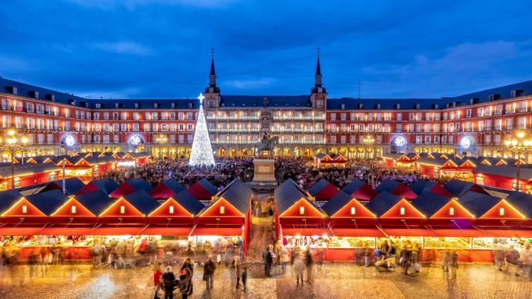 Mercado de navidad Plaza Mayor
