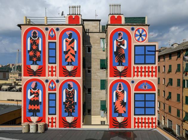 Agostino Iacurci. Street art. Arte urbano