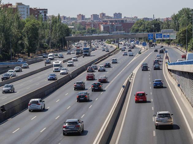 Circulación tráfico Madrid