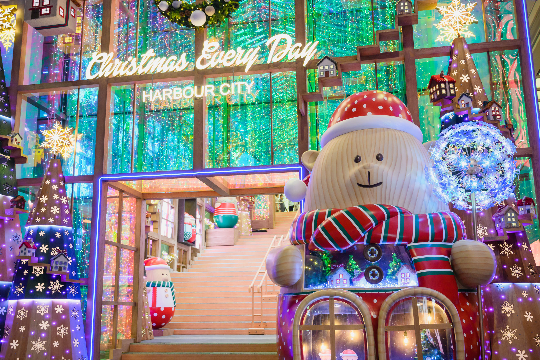 Harbour City Christmas display 2020