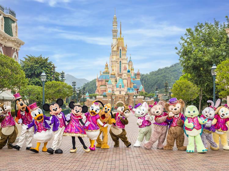 香港迪士尼樂園大抽獎得獎結果公佈